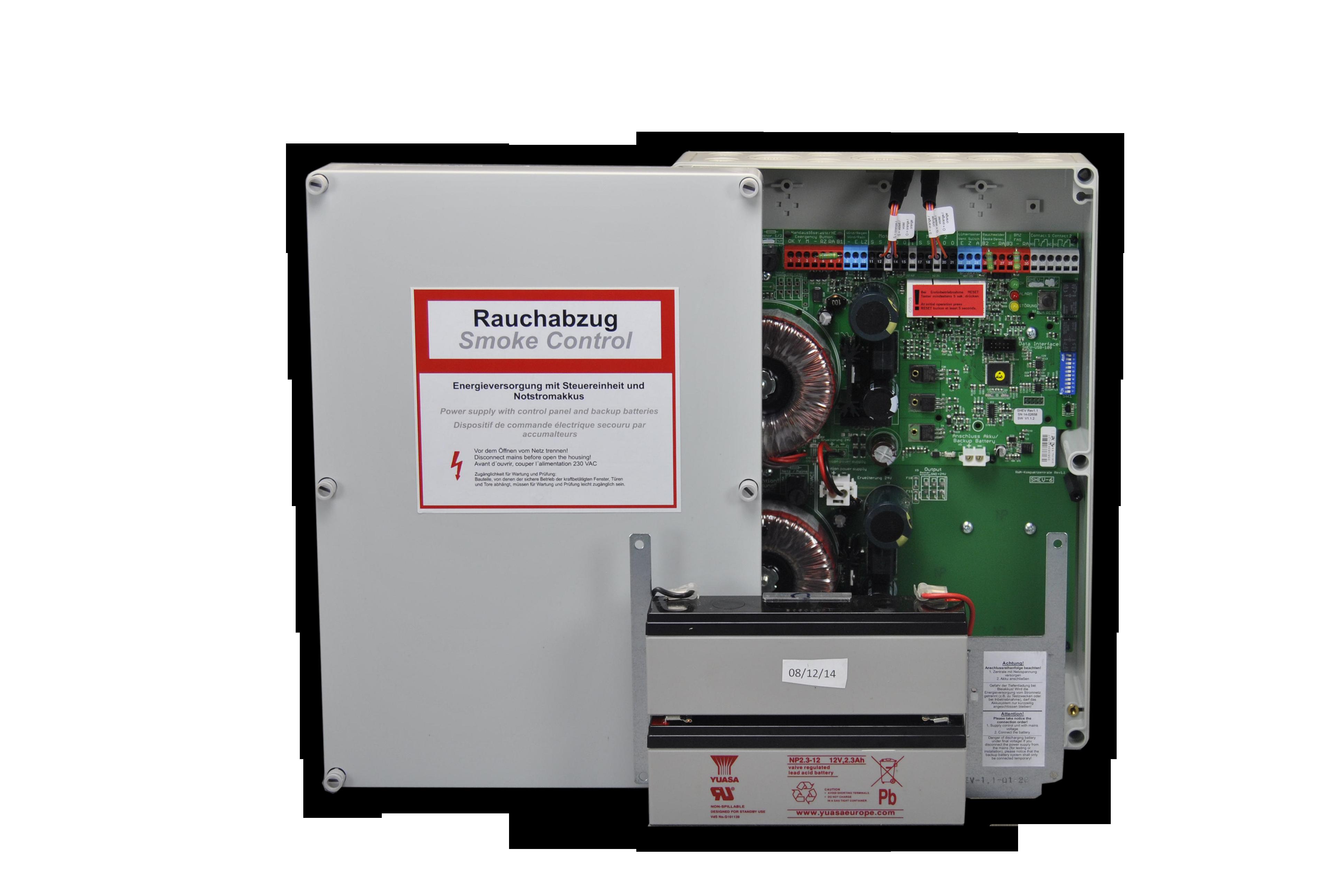 Kompaktzentrale SHEV® 2 HM für Haftmagnete
